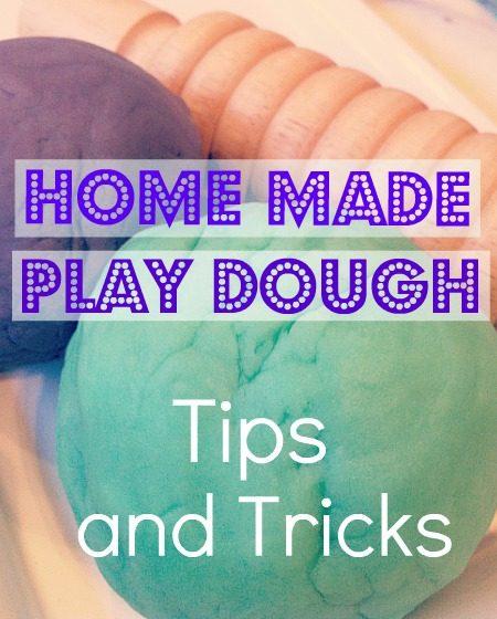 Easy HomeMade PlayDough Recipe (Tips And Tricks)