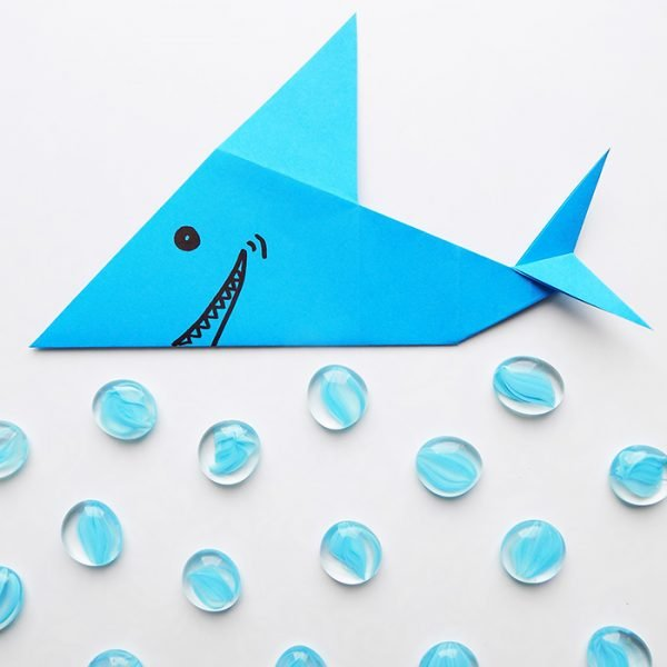 How To Make an Origami Shark – Easy Tutorial