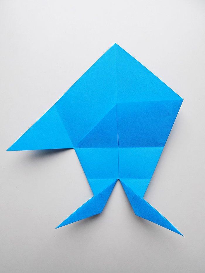 Origami Shark - How to Make Shark Step by Step - YouTube | 933x700